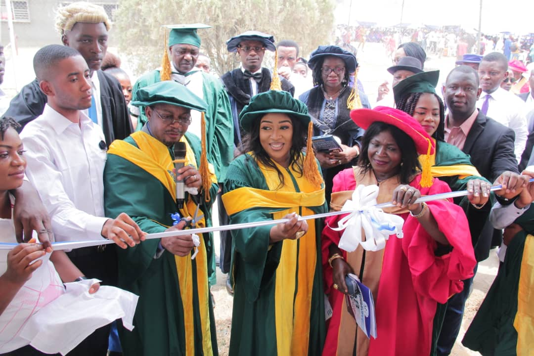 Photos: College of health Tech Calabar Matriculates 741; Commissions relaxation centre