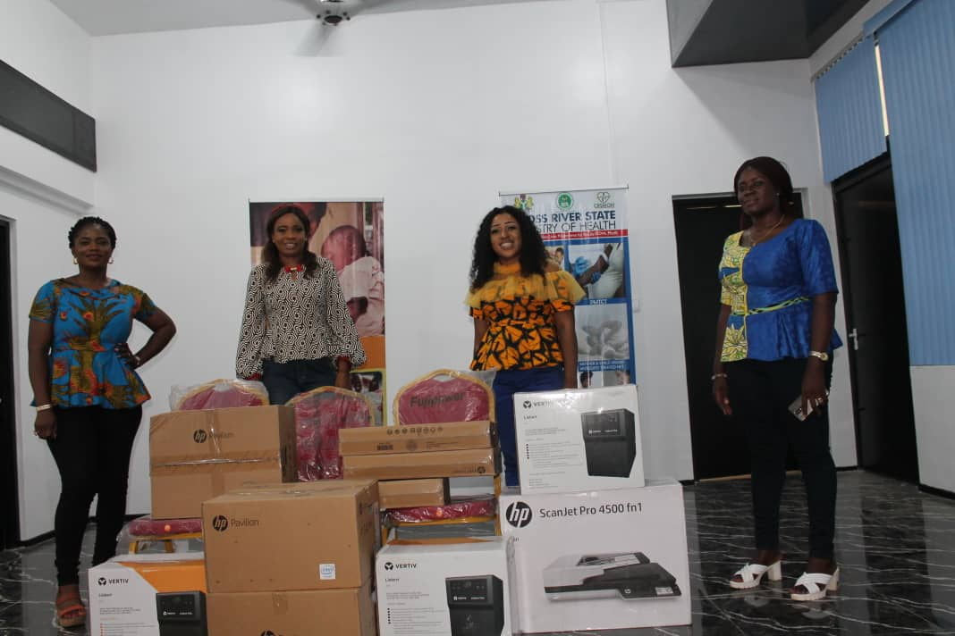 COVID-19: C'River Distributes Complete Set of ICT Devices to MDAs; Activates Remote Working Strategy (Photos)