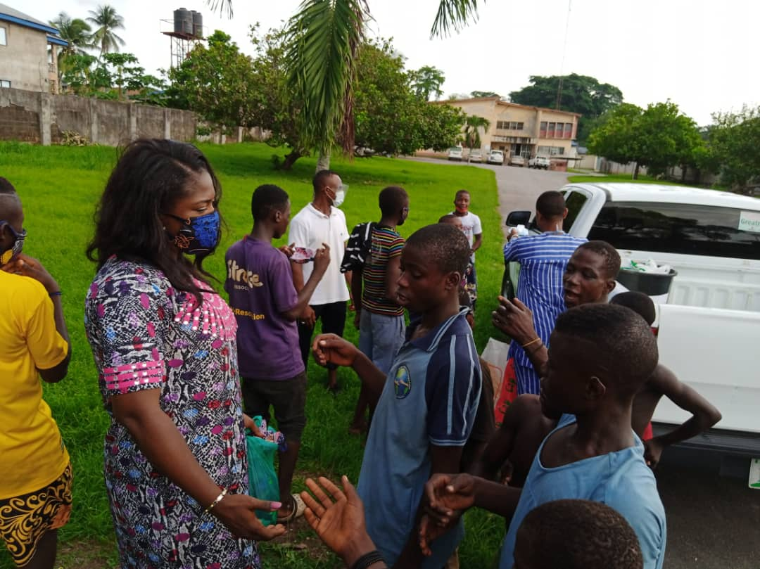 Covid-19: CRSG Embark on Street kids SENSITIZATION, Provide Welfare and Personal Protective Equipment