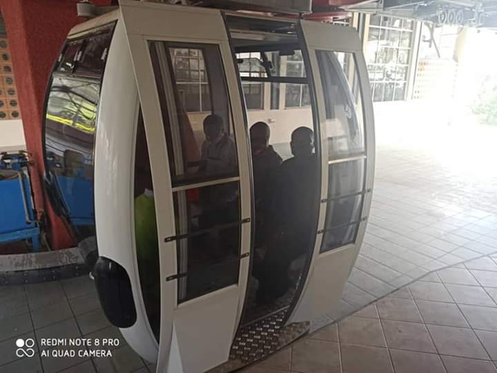 Cross River State Government Test run Cable car at Obudu ranch