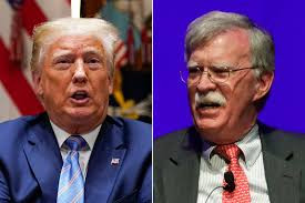 Trump administration sues former National Security Adviser John Bolton over new book