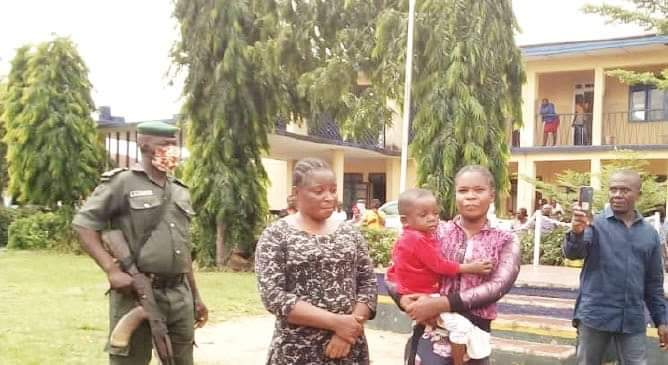 Imo women nabbed for stealing two -year - old boy