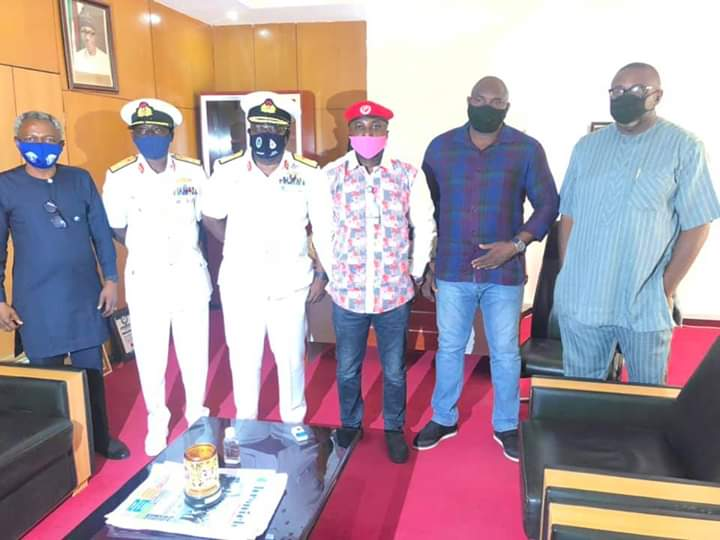 NIGERIAN NAVY DISTANCES SELF FROM THE PURPORTED TRAINING WITH POSITIVE TEST KITS.