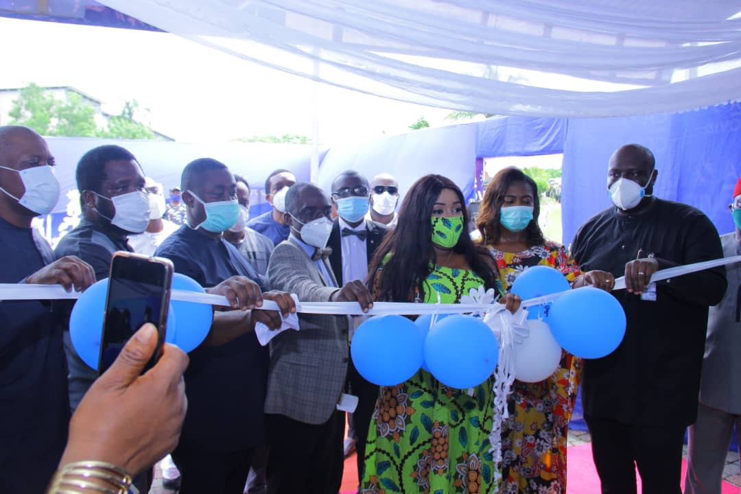 Photos: C'River State Gov't Opens Her One hundred bed Space Isolation Centre In Adiabo.