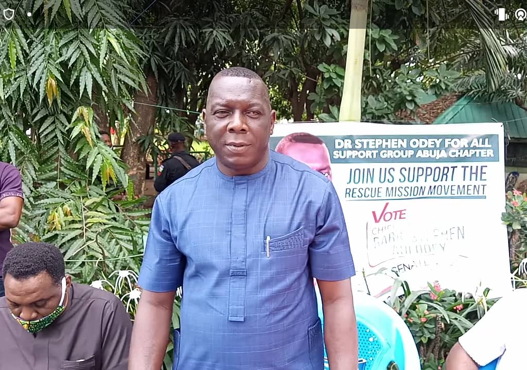 C'River North Senatorial Bye-Election: PDP aspirant, Odey assures of change within 1 year