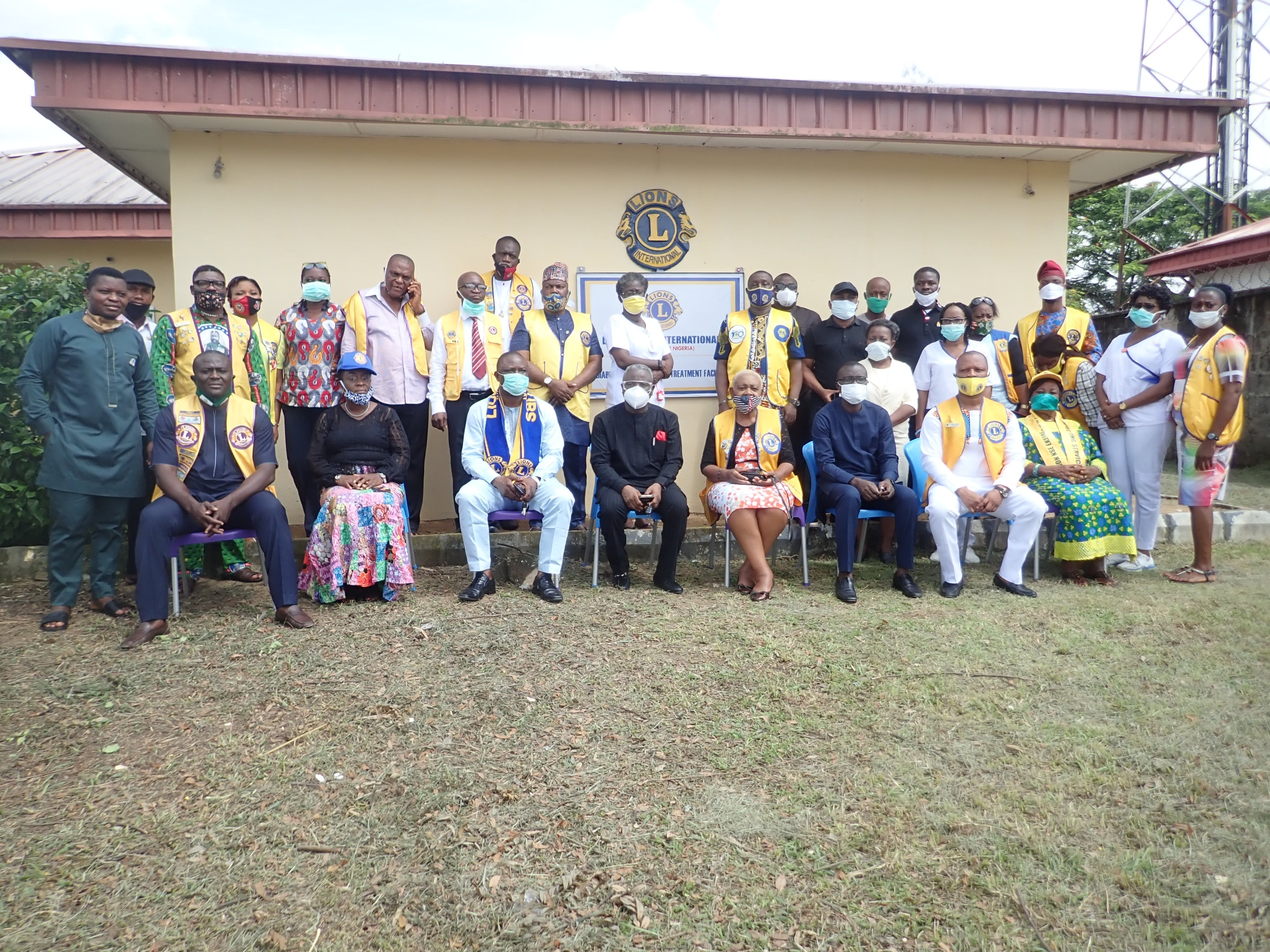LIONS CLUB DOLES OUT NEW SET OF CHAIRS, RENOVATES DIABETES CENTRE AT UCTH