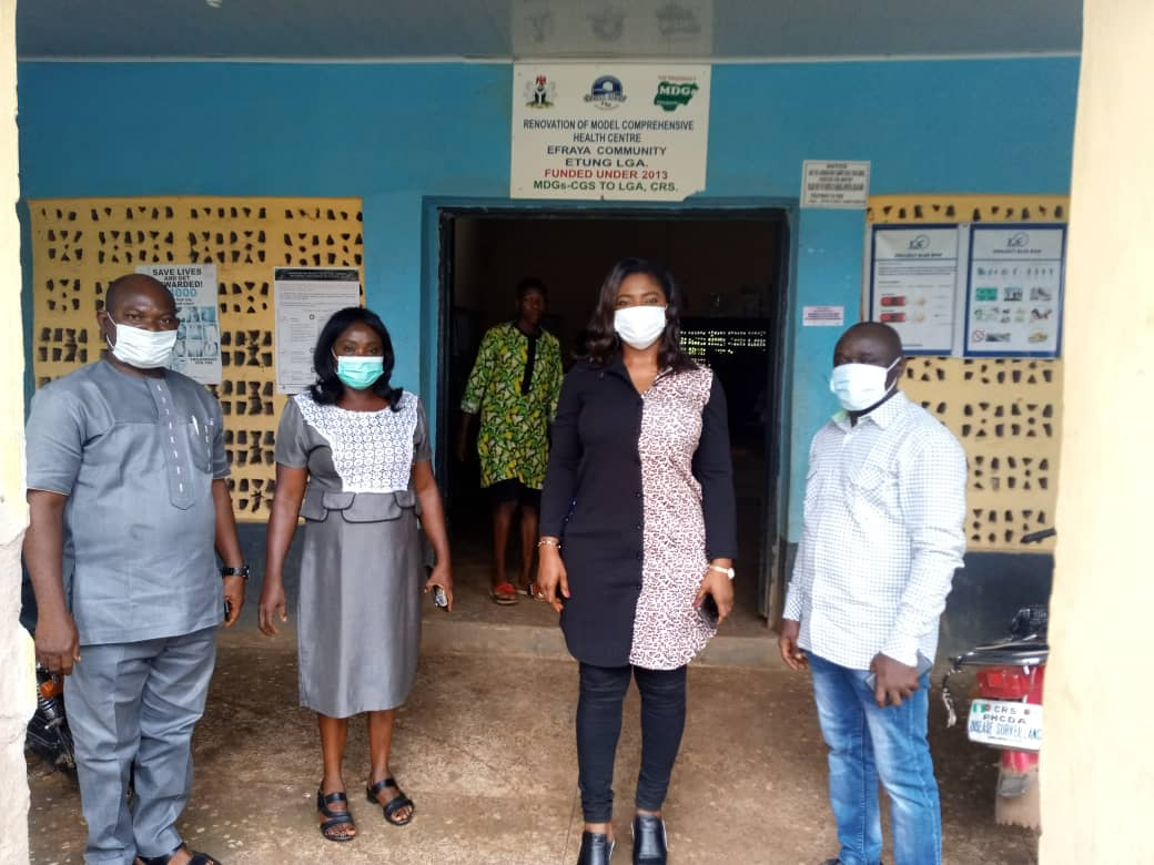 Ekpenyong Flags off Statewide Covid19 Training for Health Workers in C'River