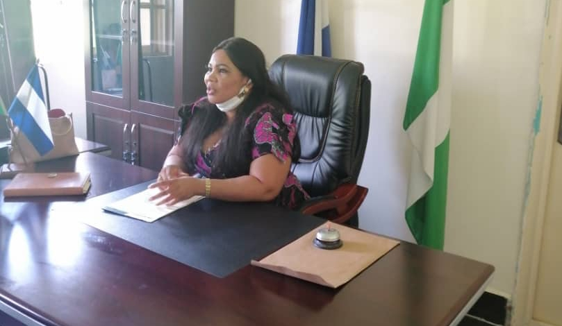 Biase Council Boss to Facilitate Federal Government N-Power Initiative for her Youth