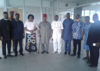 C'RIVER COMMISSIONER FOR COMMERCE PLAYED HOST TO EMINENT IGBO LEADERS