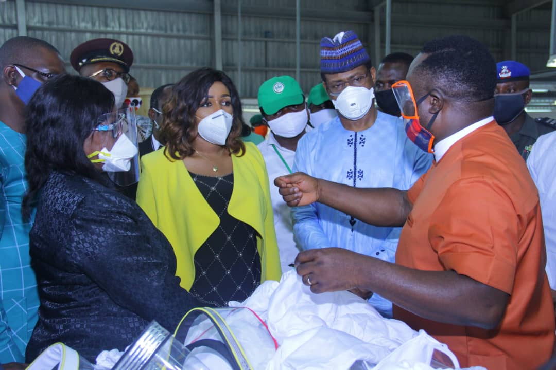 COVID-19: FG Delegation amazed with Cross River State Response,Test Centre and PPEs Production