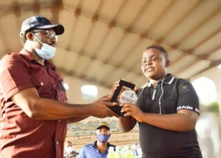Abia honors youngest football analyst, sports journalist