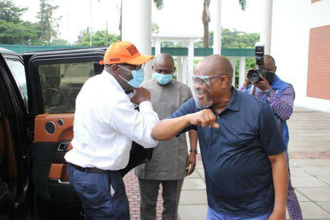 BREAKING! Edo election: Over 300 police surround Wike's hotel in Benin, PDP warns IGP