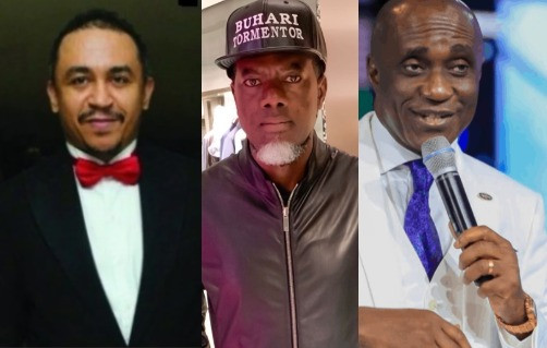 'Christ was insulted, but he did not insult back ' - Reno Omokri tells Pastor Ibiyeomie following his verbal attack on Daddy Freeze