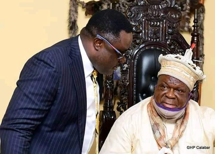We love you, we'll work with you, Obong of Calabar tells Ayade