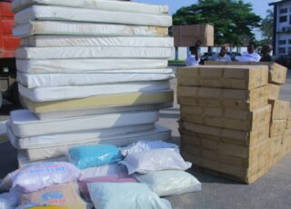 Photos: C'River Ministry of Health receives 100 ICU beds From Ministry of SDG, donated by Office of the Senior Special Assistant to the President on SDG