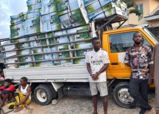 Police arrest looters of Rice Seeds and Seedlings Factory in Calabar