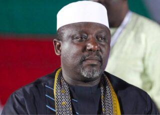Breaking: EFCC Arrests Ex-Governor, Rochas Okorocha in Abuja